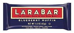 Larabar Snack Bar, Blueberry Muffin, 1.6 Ounce
