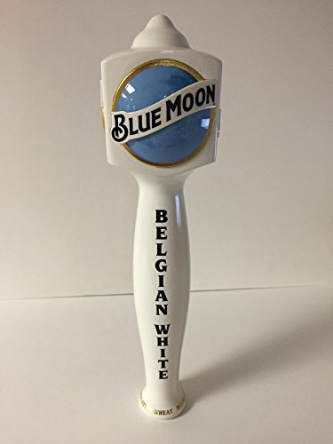 Blue Moon Beer Tap Handle (Blue Moon Belgian White Tap Handle - New 2016 Style 11.5