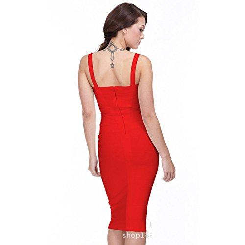 la la dress - Sudadera - para mujer Rojo