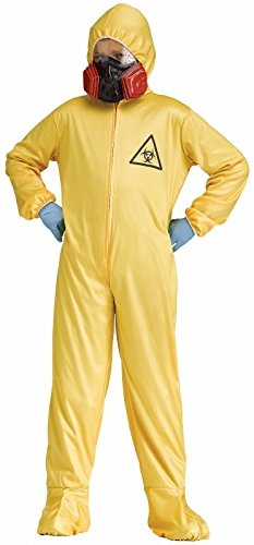 Fun World Big Boy's Child Hazmat Costume, Medium, Multicolor -