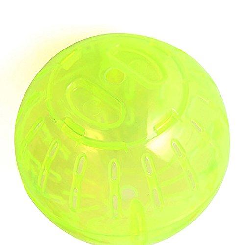 Alamana Jogging Exercise Plastic Ball Play Toy for Gerbil Rat Hamster Pet Rodent 41NPLzMkjjL