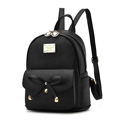 Fayland Women Teens Girls Leather Backpacks Purses Convertible Shoulder Bag