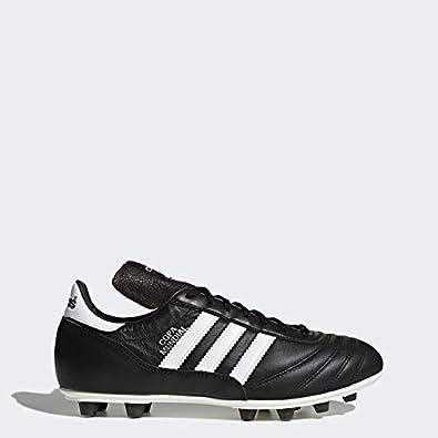 adidas Copa Mundial - Zapatillas de deporte de cuero para hombre, color negro/blanco, talla 48 2/3: Amazon.es: Zapatos y complementos