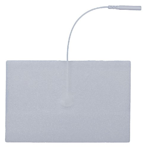Balego Patients Choice Interferential Therapy Foam Rectangle, Silver, 2 Piece ()