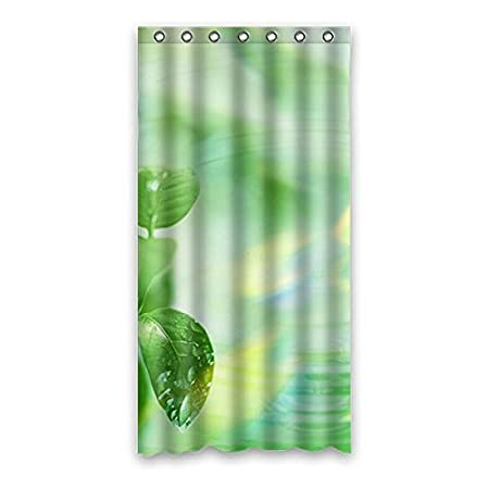 Natural And Sunlight Waterproof Mildew Proof Polyester Fabric Shower Curtain 36 Quotx72