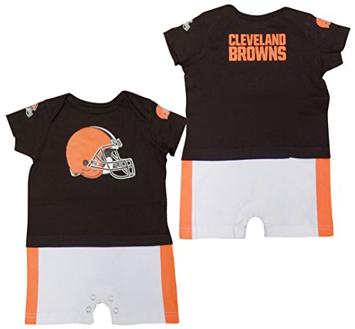 Outerstuff Cleveland Browns Baby/Infant Fan Jersey Romper 0-3 Months