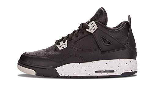 Air Jordan Retro 4 Black/Tech Grey-Black