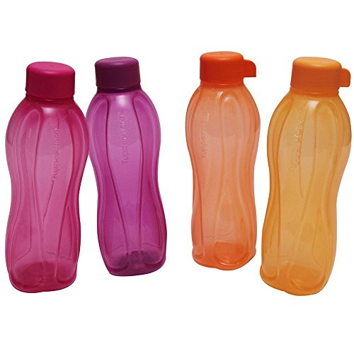 tp-240-t500-tupperware-aquasafe-sports-water-bottle-screw-top-round-500ml-4-pcs