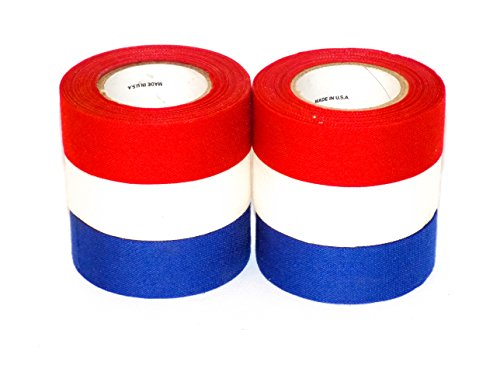 - Mylec USA 6 Pack Tape (Red/White/Blue - 2 Each)