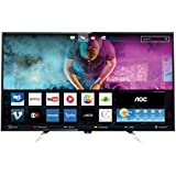 "Smart TV LED 50"" HD Conversor Digital WiFi 4 HDMI 2 USB, AOC LE50U7970, Preto"