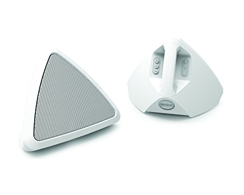 ION Audio Cornerstone | Water-Resistant Wireless Outdoor Speakers with Rechargeable Battery (Pair)
