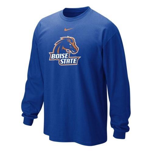 Boise State Broncos Classic Long Sleeve Logo T-shirt - Men - XL Nike Classic Logo Tee