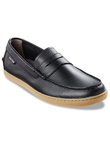 Cole Haan Mens Pinch Weekender Leather Penny Loafer Black Tumbled mVh4IumFyS