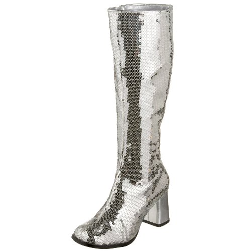 300 Sequin Gogo Boot