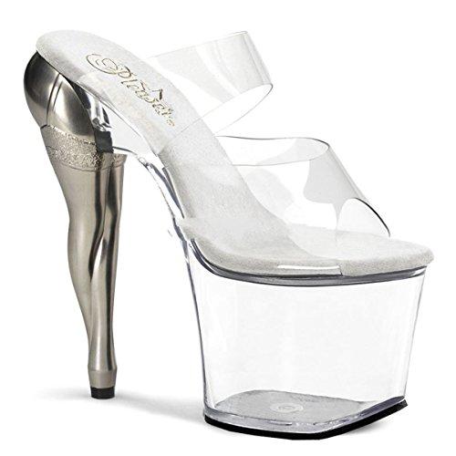 Pleaser Vixen-702 - sexy zapatos de tacón alto mujer plataforma sandalias mit - tamaño 35-40, US-Damen:EU-39 / US-9 / UK-6