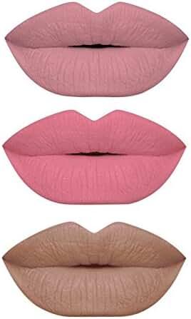 TOP 3 Matte Lipstick 3 Pcs. Set