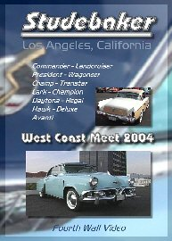 Studebaker West Coast Meet Classic Car Show Dvd