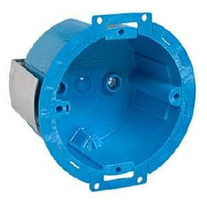 Carlon Bh614r Round Old Work Box 3 1 2 Inch Blue