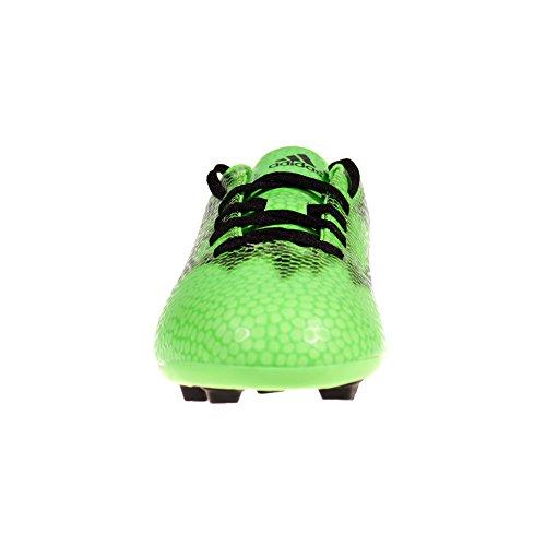F5 FXG adidas para cama infantil suelos firmes diseño de bota de fútbol verde