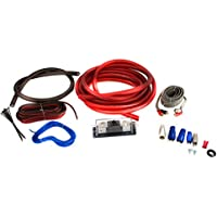 Bullz Audio 4-Gauge 3000W Professional Car Amplifier Wiring Amp Kit Red | BPE4R