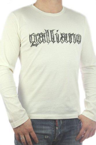 John Galliano Men's Desinger T-Shirt Longsleeve Shirt -