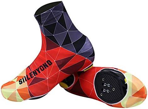 自転車靴カバー サイクリングウォームプルーフウォーフードシューズカバーレインスノーブーツプロテクターフィートゲイター 雨や雪の日に適しています (Size : XL)