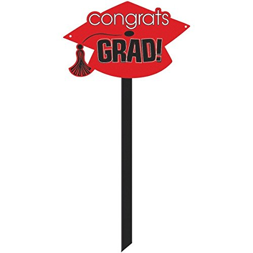 Congrats Grad Yard Sign - 6