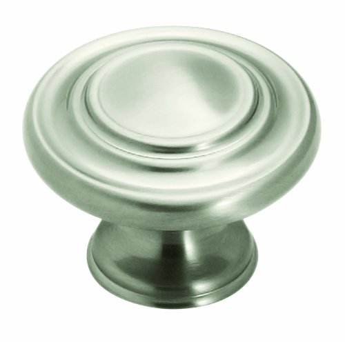 Amerock CDK1586G10 Inspirations Three Ring Knob Design Kit, Satin Nickel, 1-3/8-Inch Diameter, 10-Pack