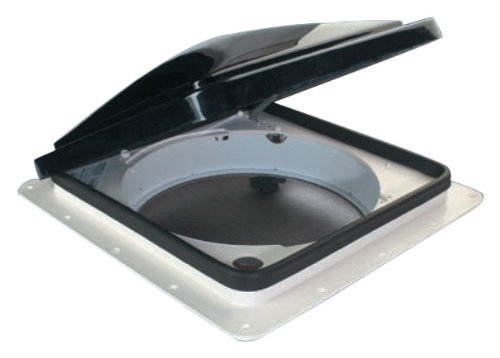 Fan-Tastic Vent 900 W/SMOKED LID Static Vent with Smoked Lid (Static Vent)