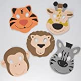 Zoo Animal Foam Masks (1 dz), Health Care Stuffs