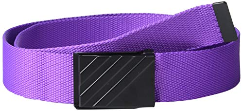 adidas Golf Webbing Belt, Active Purple, One Size