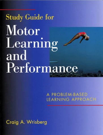 Motor Learning and Performance