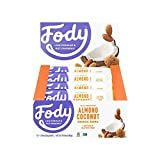 Fody Food Co, Almond Coconut Bars, Low FODMAP and Gut Friendly, Gluten and Lactose Free, 12 Pack of Bars Review