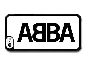 AMAF ? Accessories Abba Logo Black and White case for iPhone 5C