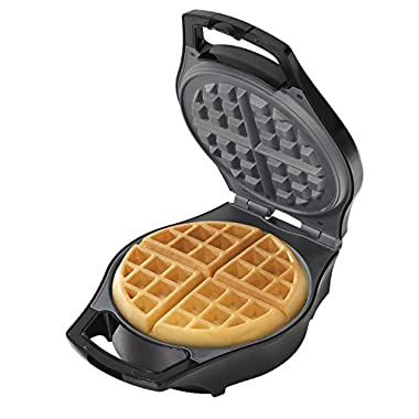 Hamilton Beach Belgian Waffle Maker, Mess Free with Adjustable Browning (26042)
