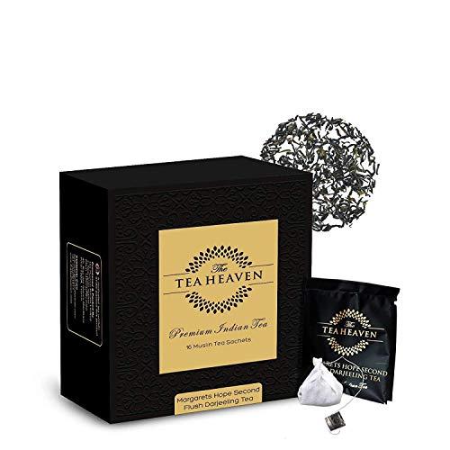 The Tea Heaven- Darjeeling Tea(Second Flush)-Directly from Premium Tea Estate- 100 % Natural Ingredients- 17 Tea Bags(1…