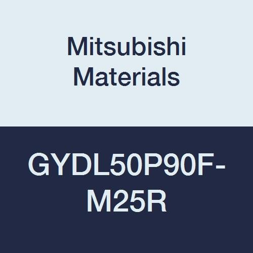 Mitsubishi Materials GYDL50P90F-M25R GY Series Modular Type Internal Grooving Holder with Right Hand M25 Modular Blade, Left Hand, 90° Angle, 80 mm Neck, 50 mm Height, 50 mm Width, 170 mm Length by Mitsubishi Materials