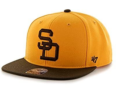 47 Brand San Diego Padres Sure Shot Two-Toned Mens Snapback Hat