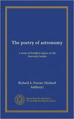 Mobi télécharger des ebooks The poetry of astronomy: a series of familiar essays on the heavenly bodies B008NOGUNQ (Littérature Française) ePub