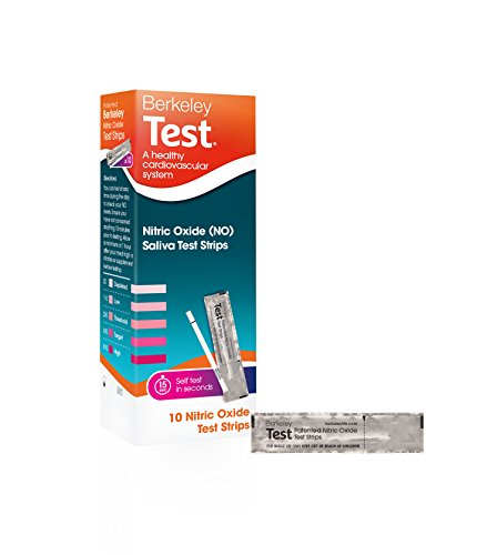 Berkeley Test - Nitric Oxide Test Strips, 10 Count