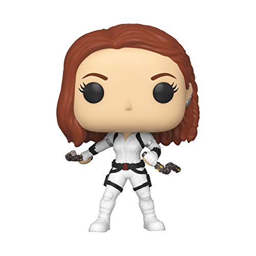 Funko Pop! Marvel Black Widow – Black Widow (White Suit), Multicolor