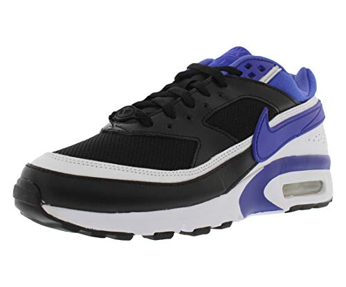 Nike Kids Air Max BW (GS) Black/Persian Violet/White Running Shoe 6.5 Kids US