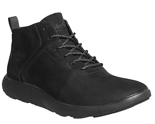 Timberland - Flyroam Leather Trainer Black - Sneakers Hombre - 41 EU