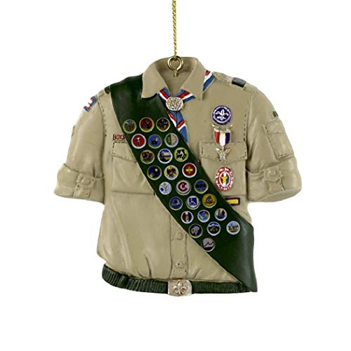 Kurt Adler Boy Scouts Of America Shirt With Sash Ornament for sale  Delivered anywhere in USA