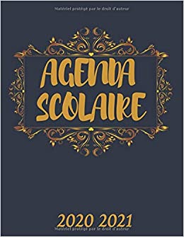 Amazon.fr   AGENDA SCOLAIRE 2020 2021: Agenda scolaire des