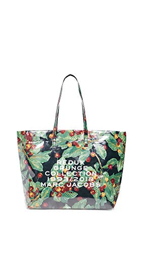 - Marc Jacobs Women's Grunge EW Tote, Red Multi, One Size