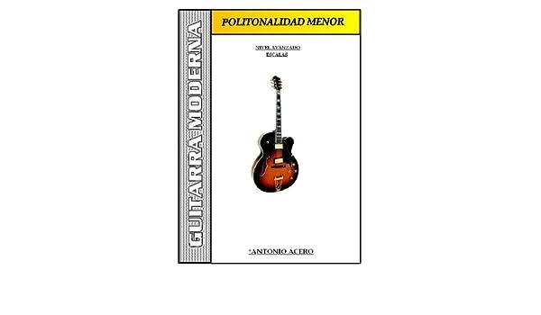 GUITARRA LIBROS -POLITONALIDAD MENOR- Patrones para guitarra ...