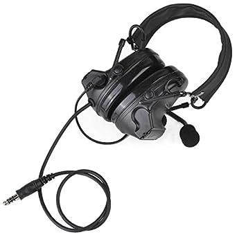 Auriculares tácticos Comtac II de camuflaje con reducción de ruido ...