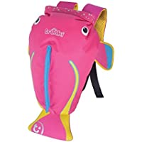 Trunki Coral the Tropical Fish Paddlepak Backpack, Pink, Medium