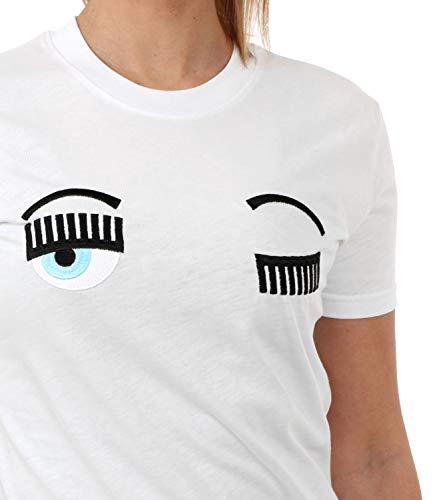 Cft057 shirt Ferragni Mod Donna Chiara Flirting T 1PfqY